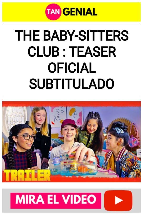 The Baby-Sitters Club : Teaser Oficial Subtitulado
