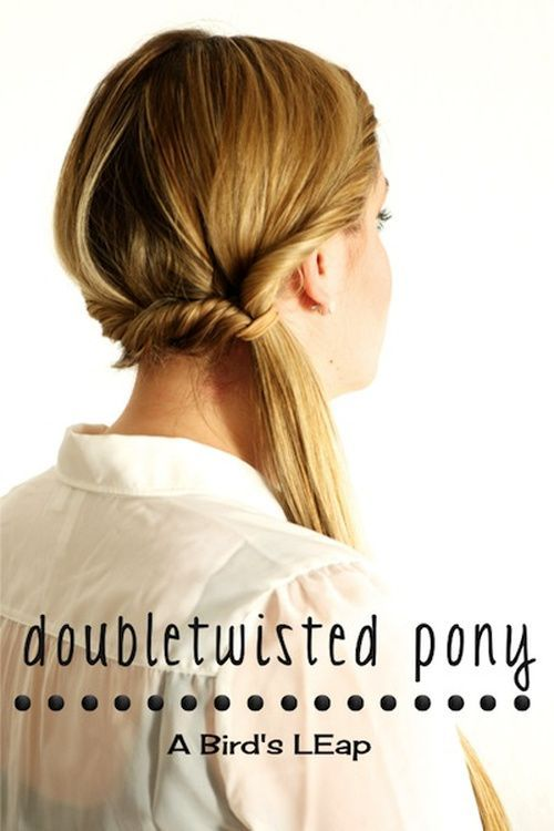 pony lateral casual updo